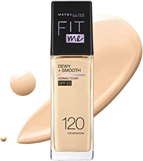 Maybelline Fit Me Dewy+Smooth Foundation SPF (Pump), 30 ml