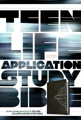 NLT Teen Life Application Study Bible, Celtic Cross (LeatherLike, Black)