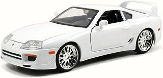 "Toyota Brian`s Supra White Fast & Furious 7"" Movie 1/32 by Jada 97346"