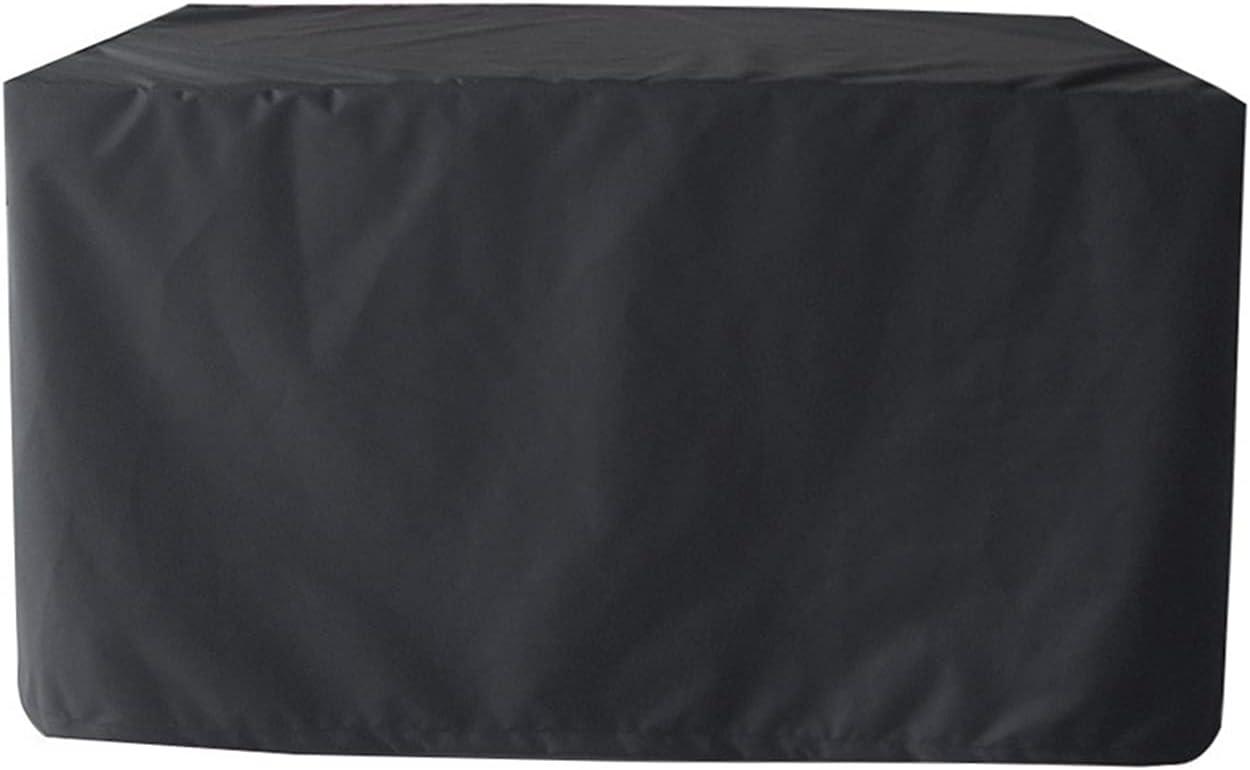 ZWYGXL Round Black Rattan Furniture Windproof San Francisco Mall Covers Waterproof Superior