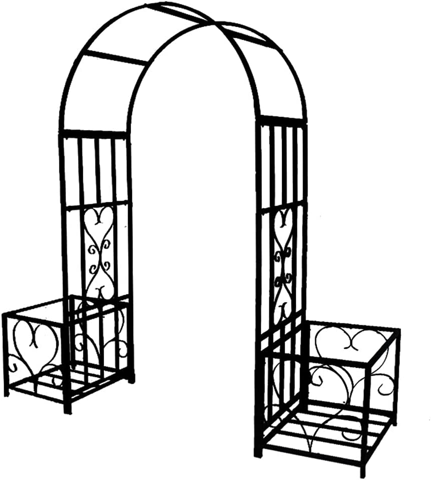 yuanfeng Garden Arch Wrought Iron Discount mail order Ranking TOP14 Pergol Metal with Durable Base