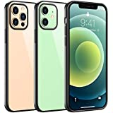 Temdan Clear Case Compatible with iPhone 12 Case/Compatible with iPhone 12 Pro Case - Clear