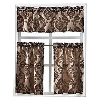 Best brown kitchen curtains Reviews