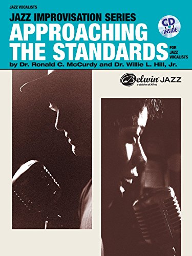 Approaching the Standards for Jazz Vocalists (Book/Cd0 (Jazz Improvisation) by Willie L, Jr Hill (30-Apr-2001) Paperback