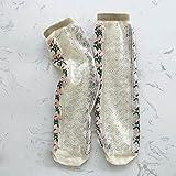 direction Calcetines Deportivos,Medias de Marea Transpirables Calcetines de niñas Calcetines de Cristal-A_1-12 años,Calcetines de Hombre