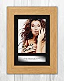 Engravia Digital Celine Dion (2) Poster Signed Mounted