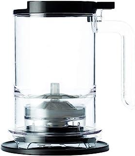 T2 A30000173 سازنده برگ شل با چای تزریق کننده و پلاستیک سیاه و سفید بدون BPA ، 500ml / 16.9 floz
