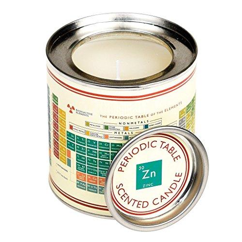 Duftkerze in einer Dose–Verschiedene Designs Periodic Table ( Vanilla Musk Scent )