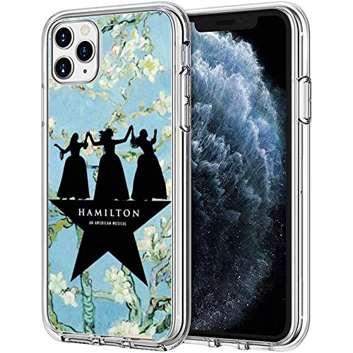 Compatible with iPhone Case Transparent Soft TPU Pure Clear Flexible Corver Case 11 Cover Broadway Sisters American