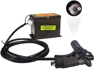 YUCHENGTECH Pistola antiestática Pistola de aire ionizante Eliminador electrostático industrial 220V (con una pistola de aire)
