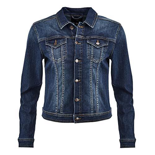 SOYACONCEPT SC-Kimberly 3 Damen Jeansjacke 19216 5-Pocket-Form mit Stretch, Groesse 42, blau Denim