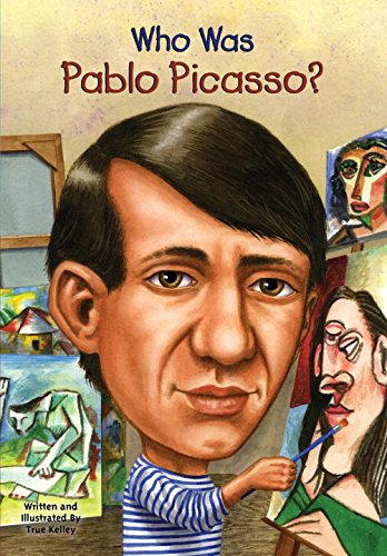 『Who Was Pablo Picasso?』のカバーアート
