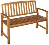 Christopher Knight Home Loja Acacia Bench, Teak Finish