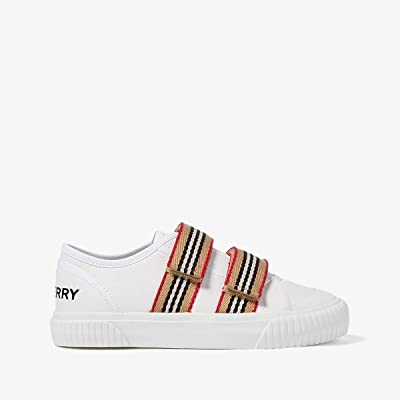 Burberry Kids Ray (Little Kid) (Optic White) Kid