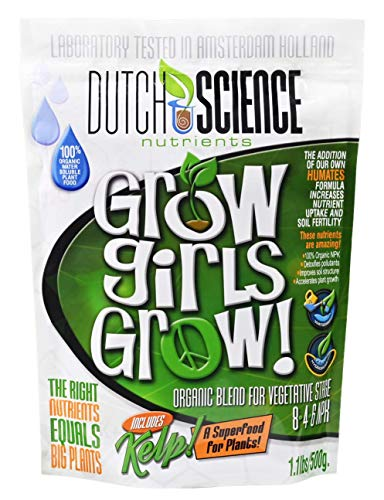 Grow Girls Grow Organic Fertilizer