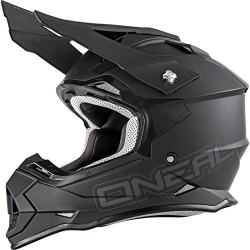 O'NEAL 2 Series RL Motocross Enduro MTB Helm Flat schwarz 2021 Oneal: Größe: L (59-60cm)