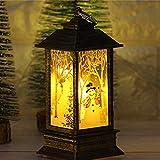 AOOF 1 vela de Navidad y LED té luz vela Navidad decoración...