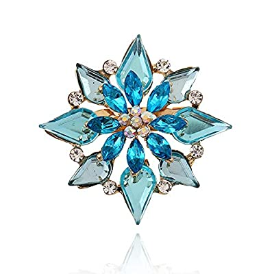 Amazon - Save 60%: Radtengle Women's Brooches & Pins Rhinestone Bridal Jewellery Party Gifts