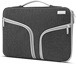 Egiant 15.6 Inch Shockproof Laptop Sleeve,Padded Protective Bag Compatible with Asus F555LA X551, Acer Aspire, Dell Inspiron, HP Pavilion Chromebook, Water-Resistant Notebook Case Handbag, Black