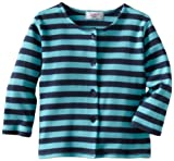 Zutano Jacket Primary Stripe, Navy/Pool ,18 Months (12 18 months)
