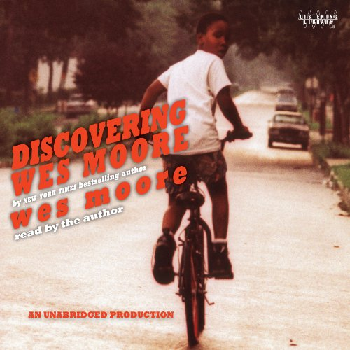 Discovering Wes Moore (The Young Adult Adaptation) audiobook cover art