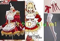Fate/Grand Order ネロ・クラウディウス メイド服 コスプレ衣装 全セット