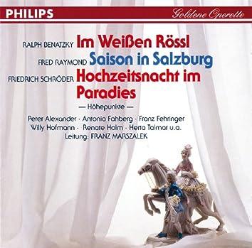 Im Weißen Rössl - Saison in Salzburg - Hochzeitsnacht im Paradies