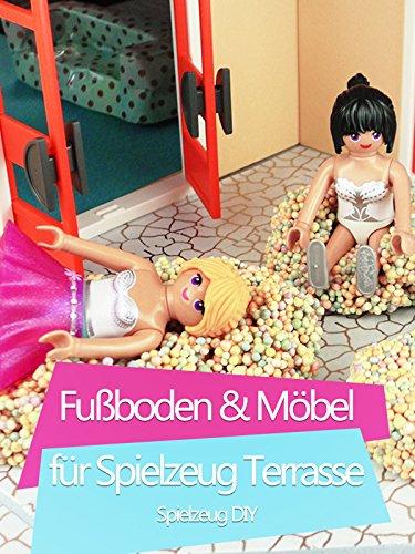 Clip: Fußboden & Möbel für Spielzeug Terrasse - Spielzeug DIY