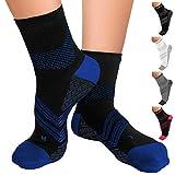 TechWare Pro Plantar Fasciitis Socks – Therapy Grade Targeted Cushion Compression Socks