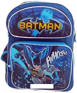 Batman 16 Large School Backpack Boy Backpack NEW!