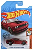 Hot Wheels 2019 Muscle Mania '18 Dodge Challenger SRT Demon 194/250, Maroon