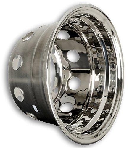 Tapacubos Acero Inoxidable 22,5pulgadas–Llanta–Revestimiento–para camiones (de acero inoxidable)