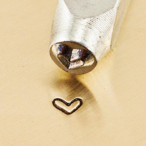 ImpressArt- Whimsy Heart Design Stamp, 3mm
