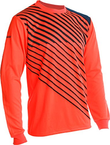 Vizari Arroyo Goal Keeper Jersey, Neon Orange/Navy, Youth X-Large
