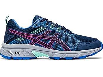 ASICS Women s Gel-Venture 7 Running Shoes 8 Peacoat/HOT Pink