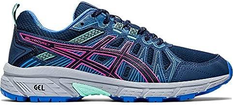 ASICS Women's Gel-Venture 7 Running Shoes, 12M, Peacoat/HOT Pink