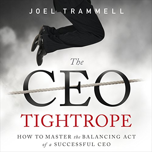The CEO Tightrope cover art
