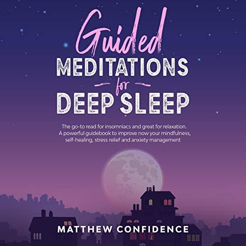 Guided Meditations for Deep Sleep cover art
