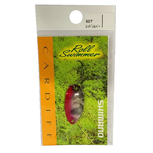 SHIMANO Ondulanti Spoon Spinning Cardiff Roll Swimmer 2.5 g Red-Silver Trota Trout Area