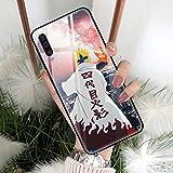Anime Naruto Panzerglas Hülle für Samsung Galaxy A01 A10 A20 A30 A40 A50 A60 A70 A10S A20S A30S A40S A50S A70S A11 A21 A31 A51 5G A71 A91 A9 1 A21 S 4G (6, Samsung A71 4G)