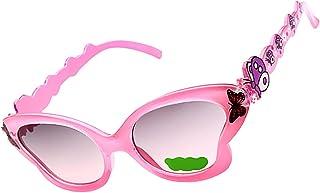 Baosity ガールズ ファッション小物 サングラス ファッション眼鏡 UV400 夏用 ちょうのスタイル
