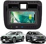 Chargeur sans Fil Voiture pour Toyota RAV4 2020 Panneau la Console Centrale de Toyota RAV4,10W Qi...