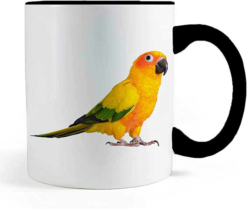 Sun Conure Perakeet Bird Coffee And Tea Mug