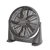 Professional-Elec Large 20' High Velocity Cyclone Cooling Air 3 Speed Free Standing Commercial Box Fan - UK 3-Pin Plug