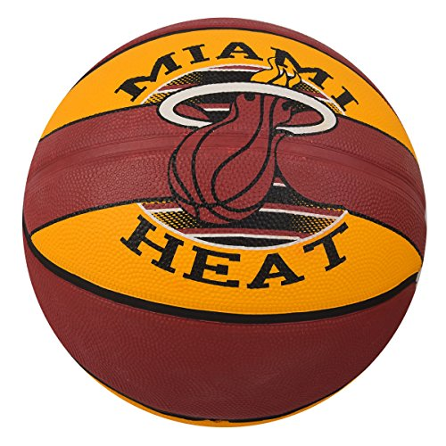 Spalding NBA Team Basket Ball Miami Heat 7
