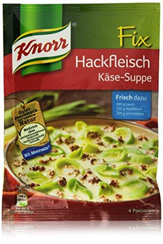 Knorr Fix Hackfleisch Käse-Suppe mit Lauch 4 Portionen