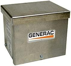 Generac 6343 30-Amp 125/250V Raintight Aluminum Power Inlet Box