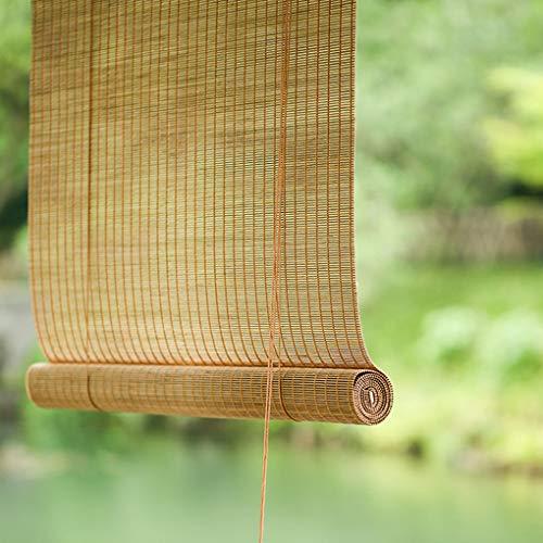 Jalousien Retro Bambus, Sommer Balkon Schatten/durchscheinend/römische, Garten/Innen und Außen verwendet, angepasst