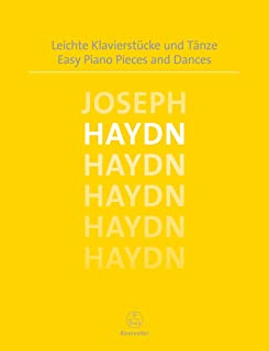 Easy Piano Pieces and Dances Haydn