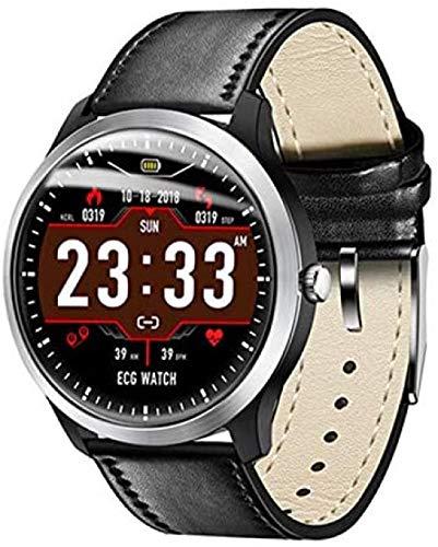 El nuevo N58 hombres s reloj inteligente PCG ECG I IP67 impermeable monitor de frecuencia cardíaca pulsera de presión arterial puede reemplazar avanzado Smartwatch-D